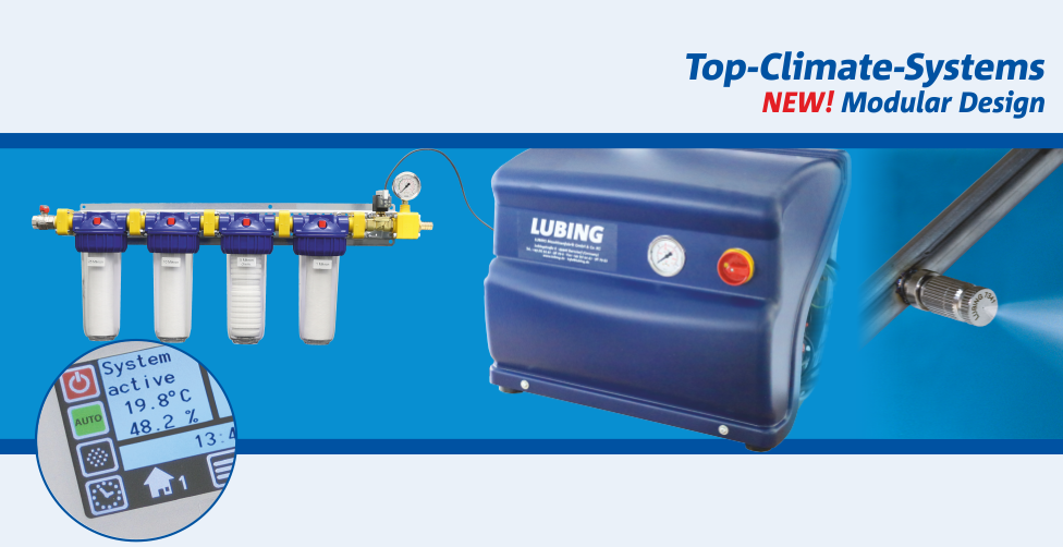 LUBING Top-Climate-System – NEW! With LUBING Touch Control